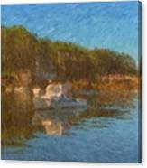 Lobster Boat Boothbay Harbor Canvas Print