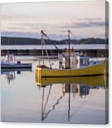 Lobster Boat Jonesport, Maine  Canvas Print