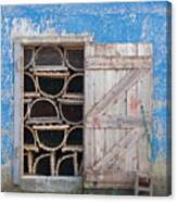 Lobster Trap Storage-3 Canvas Print