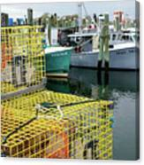 Lobster Traps In Galilee Canvas Print