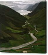 Loch Assynt Canvas Print