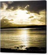 Loch Bracadale Sunset Canvas Print