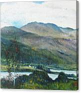 Loch Dun Luiche Donegal Ireland 2916 Canvas Print
