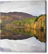 Loch Faskally Autumn Canvas Print