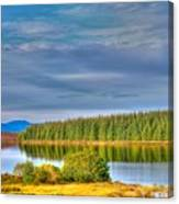 Loch Kinardochy Reflections Canvas Print