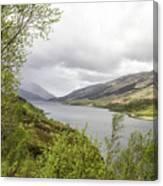 Loch Levern Canvas Print