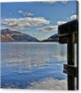 Loch Lomond And The Ben Canvas Print