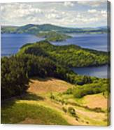 Loch Lomond From Conic Hill Canvas Print