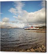 Loch Lomond Landscape Canvas Print
