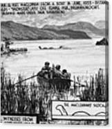 Loch Ness Monster, 1934 Canvas Print