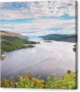 Loch Riddon And Isle Of Bute Canvas Print