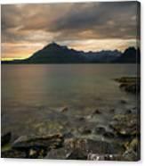 Loch Scavaig Stones Canvas Print