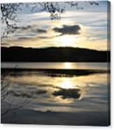 Loch Venacher Sunset Canvas Print