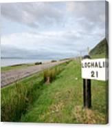 Lochaline This Way Canvas Print