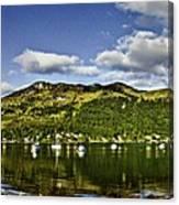 Lochgoilhead Panorama Canvas Print