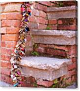 Lock And Step Canvas Print