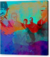 Lock Stock And Two Smoking Barrels Canvas Print