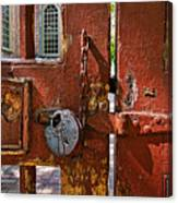 Locked Gate Canvas Print