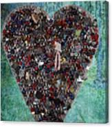 Locket Heart-3 Canvas Print