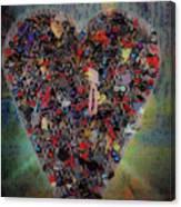 Locket Heart-6 Canvas Print
