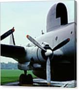 Lockheed Ec-121d Warning Star, Early Warning Aircraft Canvas Print