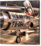 Lockheed F-94 Model C Starfire Canvas Print
