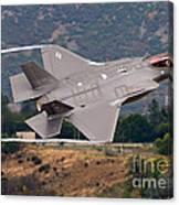 Lockheed Martin F-35 Lightning II, 2015 Canvas Print