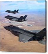 Lockheed Martin F-35 Lightning II Canvas Print
