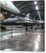 Lockheed Yf-12a Canvas Print