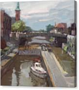 Lockport Locks Canvas Print