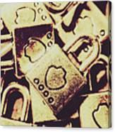 Locks From Sheriff Penitentiary Canvas Print