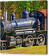 Locomotive 201 Canvas Print