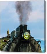 Locomotive 26 Steamtown  Canvas Print