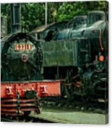 Locomotive Canvas Print