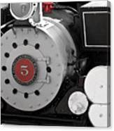 Locomotive Number Five Canvas Print