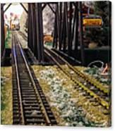 Locomotive Tracks Canvas Print
