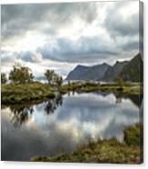 Lofoten Reflections Canvas Print