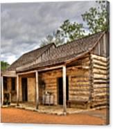 Log Cabin In Lbj State Park Canvas Print