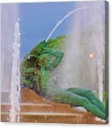 Logan Circle Fountain 3 Canvas Print