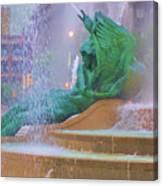 Logan Circle Fountain 5 Canvas Print