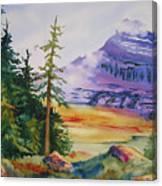 Logan Pass Canvas Print
