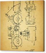 Logging Truck Patent Canvas Print