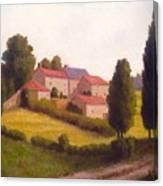 Loire Valley Apres Midi Canvas Print