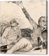 Lojtnant Ziden Canvas Print