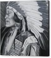 Lokata Chief Canvas Print