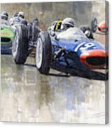 Lola Lotus Cooper Ferrari Datch Gp 1962 Canvas Print