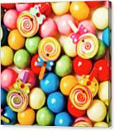 Lolly Shop Pops Canvas Print