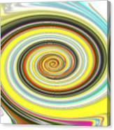 Lollypop Swirl  Canvas Print