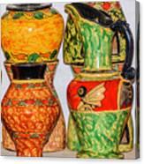 Lombok Pottery Canvas Print
