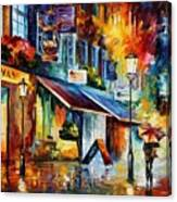 London - The Swan Canvas Print